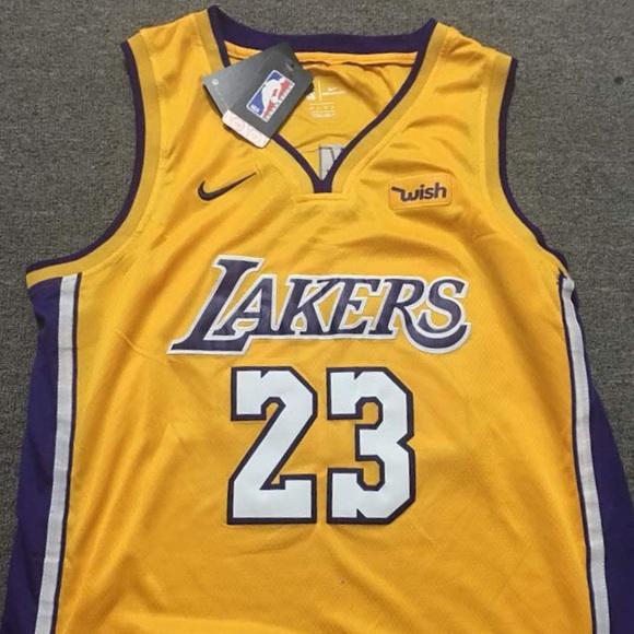 a896eec9e NEW! Nike Lebron James LA Lakers NBA Jersey